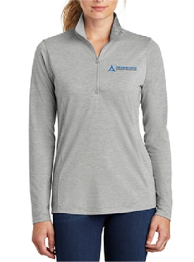 Sport-Tek Ladies PosiCharge Tri-Blend Wicking 1/4-Zip Pullover