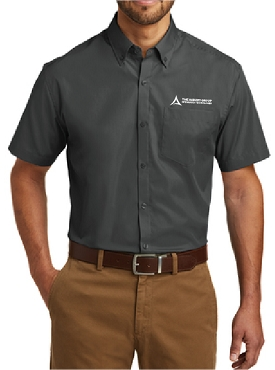 Port Authority Short Sleeve Carefree Poplin Shirt