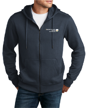 District Perfect Weight Fleece Full-Zip Hoodie